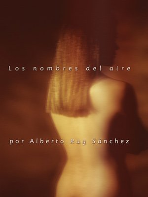 cover image of Los nombres del aire
