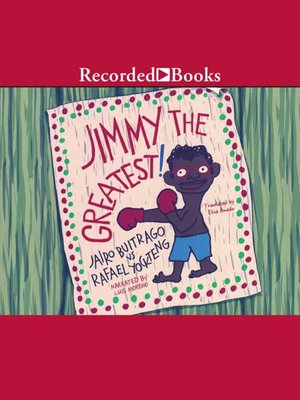 cover image of Jimmy the Greatest