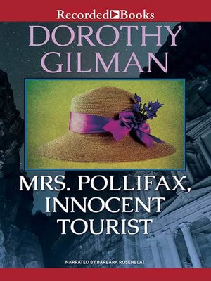 cover image of Mrs. Pollifax, Innocent Tourist