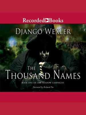 cover image of The Thousand Names