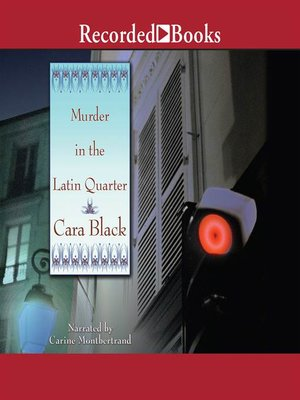 cover image of Murder in the Latin Quarter
