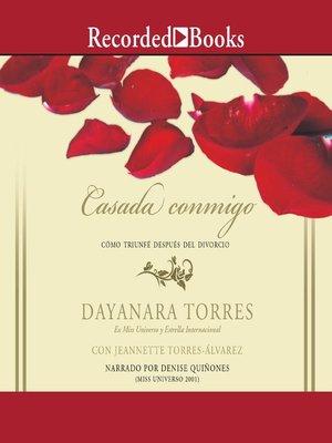 cover image of Casada conmigo(Married to Me)
