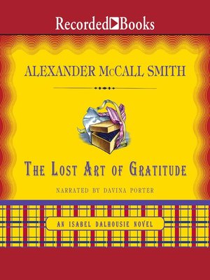 cover image of The Lost Art of Gratitude