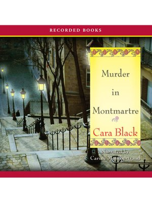 cover image of Murder In Montmartre