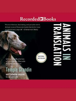 cover image of Animals in Translation