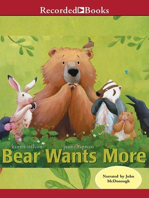 cover image of Bear Wants More