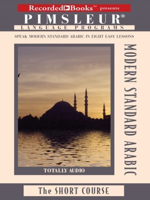 cover image of Arabic (Modern Standard)
