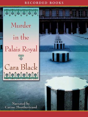 cover image of Murder in the Palais Royal