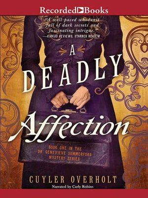 cover image of A Deadly Affection