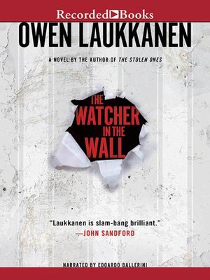 cover image of The Watcher in the Wall