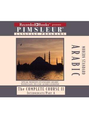 cover image of Arabic (Modern Standard) IIA