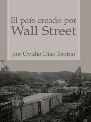 cover image of El pais creado por Wall Street