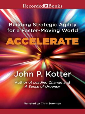 cover image of Accelerate