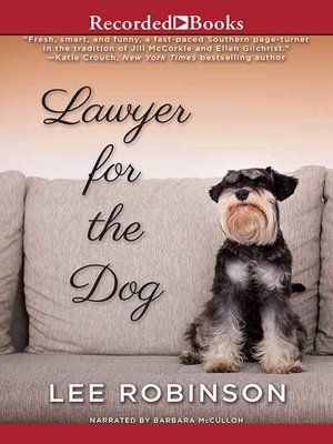 cover image of Lawyer for the Dog
