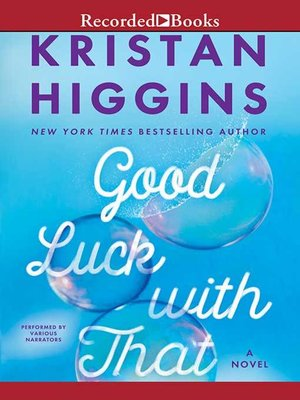 cover image of Good Luck with That