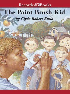 cover image of The Paintbrush Kid