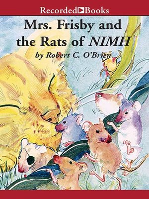 cover image of Mrs. Frisby and the Rats of NIMH