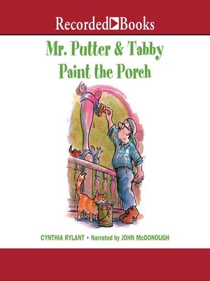 cover image of Mr. Putter & Tabby Paint the Porch