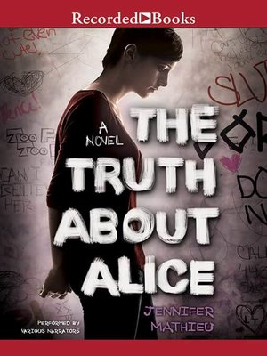 cover image of The Truth About Alice