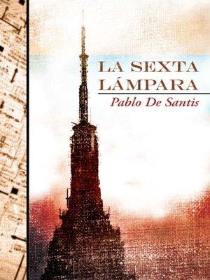 cover image of La sexta lámpara