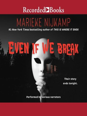 cover image of Even If We Break