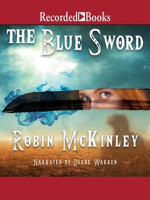cover image of The Blue Sword