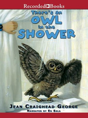 cover image of There's an Owl in the Shower