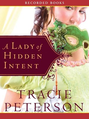 cover image of A Lady of Hidden Intent