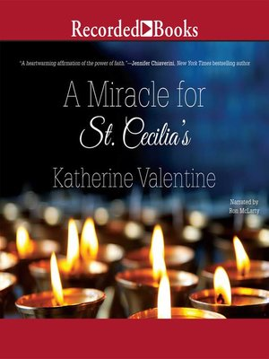 cover image of A Miracle for St. Cecilia's