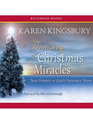 cover image of A Treasury of Christmas Miracles