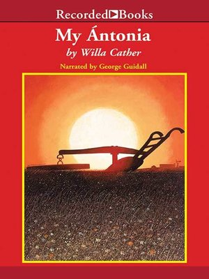 cover image of My Antonia