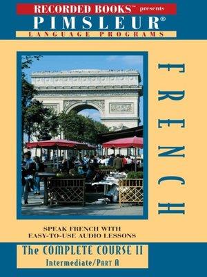 cover image of French (European) IIA