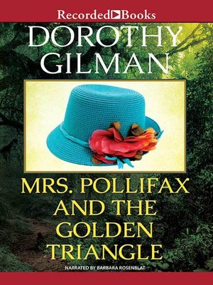 cover image of Mrs. Pollifax and the Golden Triangle