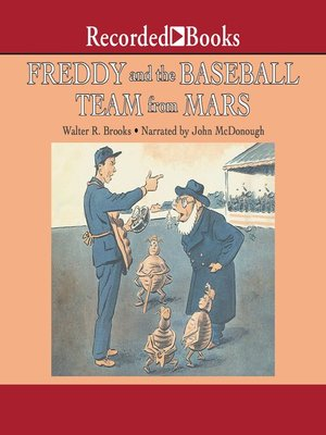 cover image of Freddy and the Baseball Team from Mars