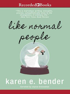 cover image of Like Normal People