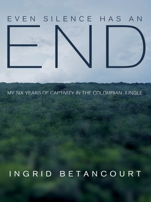 cover image of Even Silence Has an End