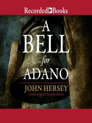 cover image of A Bell for Adano