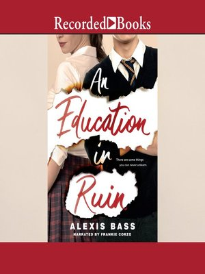 cover image of An Education in Ruin