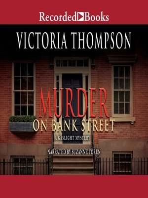 cover image of Murder on Bank Street