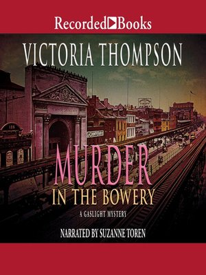 cover image of Murder in the Bowery