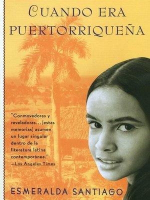 cover image of Cuando era Puertorriquena