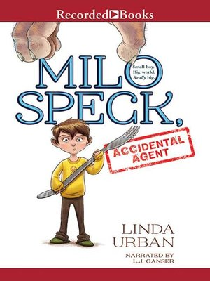 cover image of Milo Speck, Accidental Agent