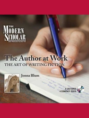 cover image of The Author at Work