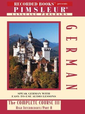 cover image of German IIIA