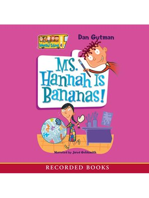 cover image of Ms. Hannah Is Bananas