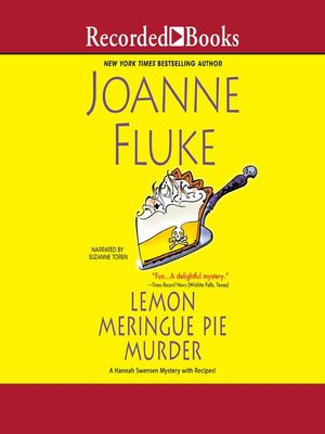 cover image of Lemon Meringue Pie Murder