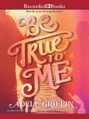 cover image of Be True to Me