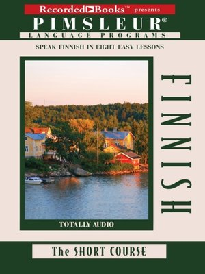 cover image of Finnish