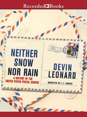cover image of Neither Snow Nor Rain