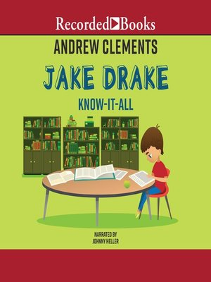 cover image of Jake Drake, Know-It-All